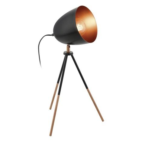 Eglo 49385 - Asztali lámpa CHESTER 1xE27/60W/230V
