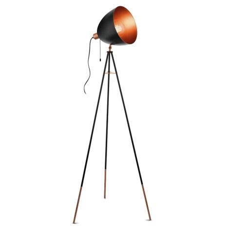 Eglo 49386 - Állólámpa CHESTER 1xE27/60W/230V