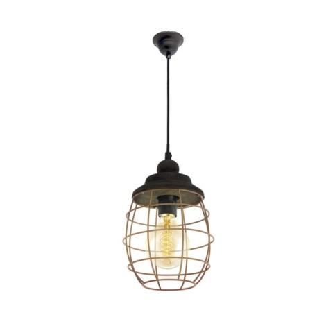 Eglo 49445 - Függesztékes lámpa BAMPTON 1xE27/60W/230V