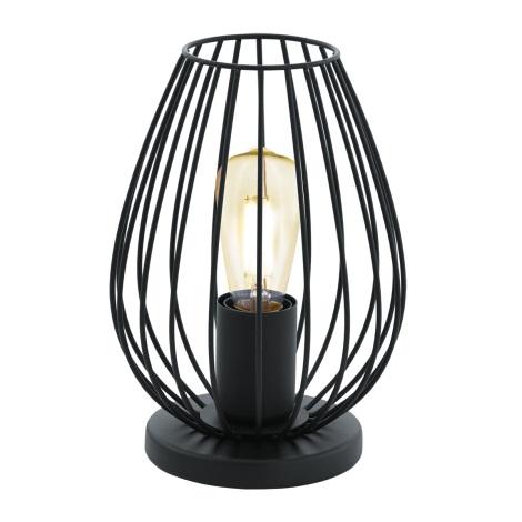 Eglo 49481 - Asztali lámpa NEWTOWN 1xE27/60W/230V