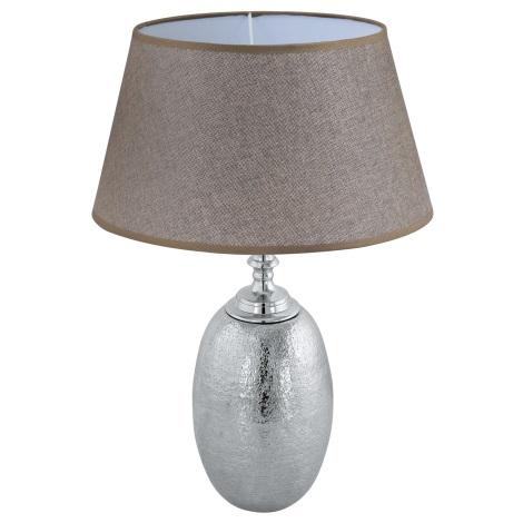 Eglo 49664 - Asztali lámpa SAWTRY 1xE27/60W/230V