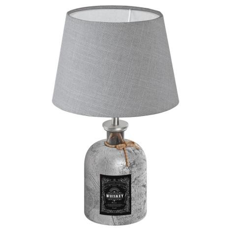 Eglo 49667 - Asztali lámpa MOJADA 1xE27/40W/230V