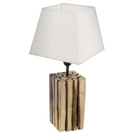 Eglo 49669 - Asztali lámpa RIBADEO 1xE27/60W/230V