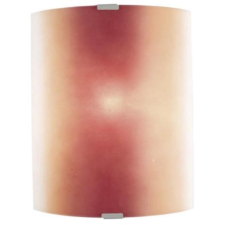 EGLO 51294 - BONDO fali lámpa 1xE27/100W piros