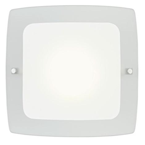 EGLO 51299 - BONDO 1 fali/mennyezeti lámpa 1xE27/60W fehér/szürke