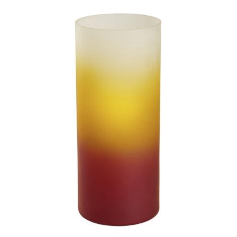 EGLO 51957 - Asztali lámpa 1xE27/60W piros, narancs