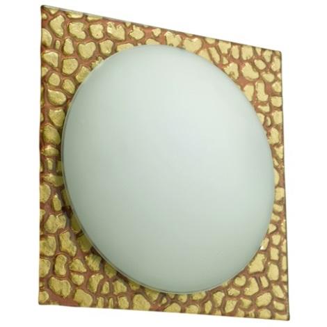 EGLO 52268 - ONICE fali/mennyezeti lámpa 1xE27/60W fehér/rózsaszín