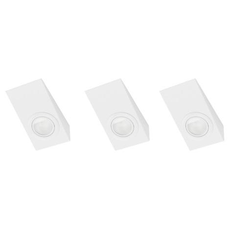 EGLO 52575 - TRIANA beépíthető lámpa 3 db-os szett 3xG4/20W