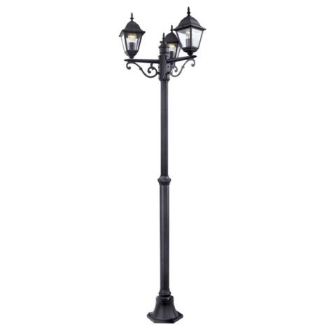 EGLO 52769 - Kültéri lámpa 3xE27/60W fekete