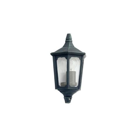EGLO 5376 - LATERNA 7 kültéri fali lámpa 1xE27/60W zöld