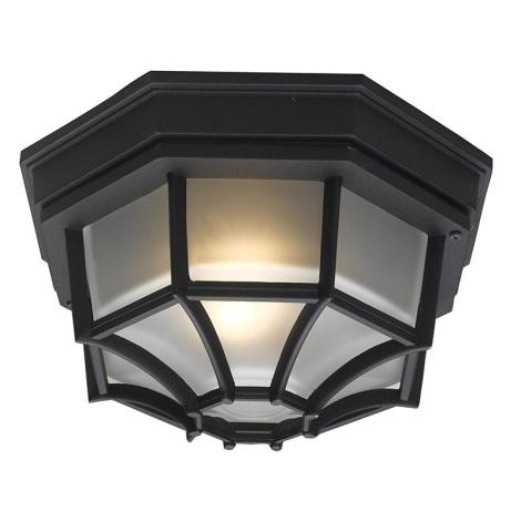 EGLO 5389 - LATERNA 7 kültéri mennyezeti lámpa 1xE27/100W fekete