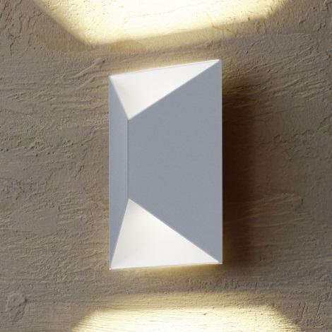 Eglo 54603 - LED Kültéri fali lámpa PREDAZZO 2xLED/2,5W/230V IP44