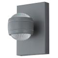 Eglo 78592 - LED Kültéri fali lámpa SESIMBA 2xLED/3,7W/230V IP44