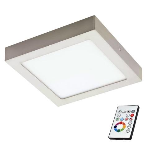 Eglo 78768 - LED RGB Szabályozható mennyezeti lámpa TINUS 1xLED/6W/230V
