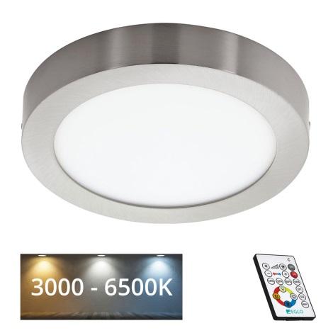 Eglo 78769 - LED Szabályozható mennyezeti lámpa TINUS 1xLED/21W/230V