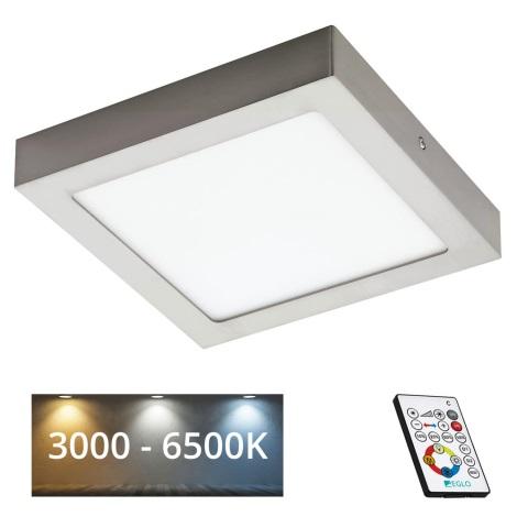Eglo 78771 - LED Szabályozható mennyezeti lámpa TINUS 1xLED/21W/230V