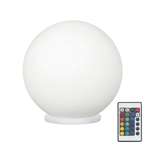 Eglo 79042 - LED RGB Dimmelhető asztali lámpa RONDO C 1xE27/7,5W/230V