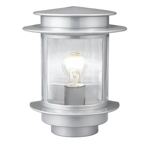EGLO 80761 - EXIT 1 kültéri fali lámpa1xE27/60W ezüst