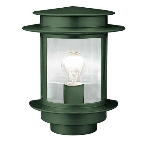 EGLO 80781 - EXIT 1 kültéri fali lámpa 1xE27/60W zöd