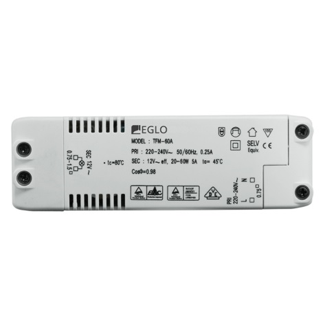 Eglo 80884 - elektromos transzformátor EINBAUSPOT 60W