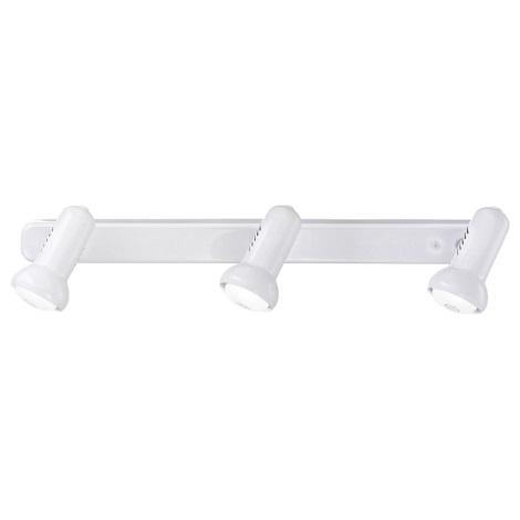 EGLO 81017 - DALLAS spotlámpa 3xE14/R50/40W fehér
