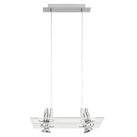 Eglo 82215 - Függesztékes lámpa FOCUS 4xGU10/50W/230V