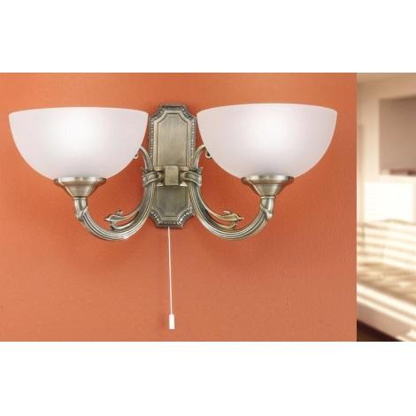 EGLO 82752 - SAVOY fali lámpa 2xE14/40W