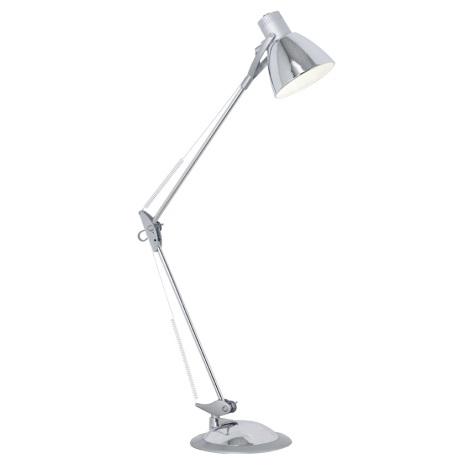 Eglo 82939 - Asztali lámpa TIME 1xE27/60W/230V