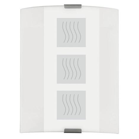 EGLO 83134 - GRAFIK fali/mennyezeti lámpa 1xE27/60W fehér