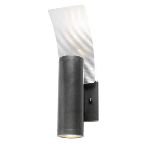 EGLO 85748 - Kültéri fali lámpa RIGA 2 2xGU10/50W