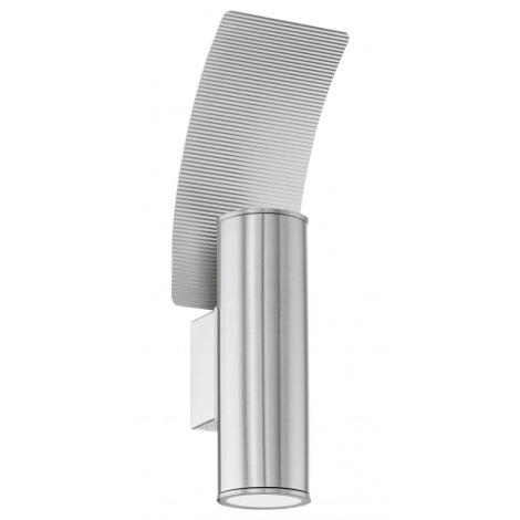 EGLO 85749 - Kültéri fali lámpa RIGA 2 2xGU10/50W