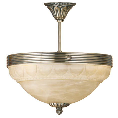 EGLO 85856 - MARBELLA csillár 3xE14/60W bronz