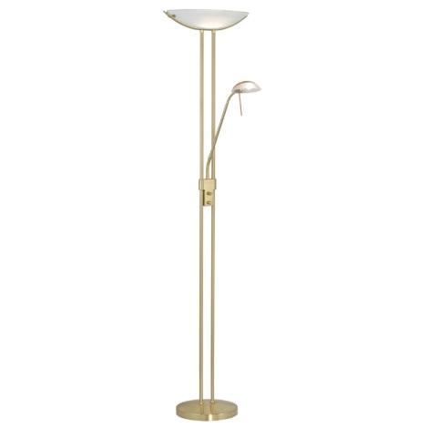 EGLO 85973 - BAYA álló alkony lámpa 1xR7s/300W+1xG9/40W sárgaréz