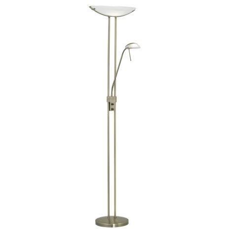 EGLO 85974 - BAYA álló alkony lámpa 1xR7s/300W+1xG9/40W bronz