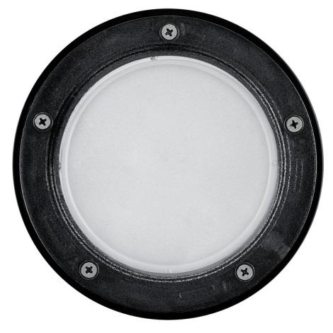 EGLO 86188 - RIGA 3 taposó lámpa 1xE27/15W fekete