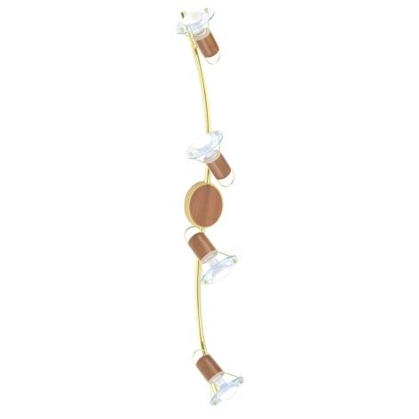 EGLO 86279 - TORONTO 1 spotlámpa 4xE14/40W