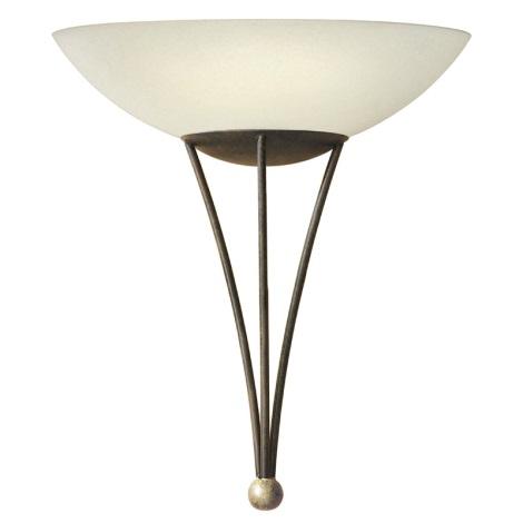 EGLO 86714 - MESTRE fali lámpa 1xE27/60W antik barna/arany