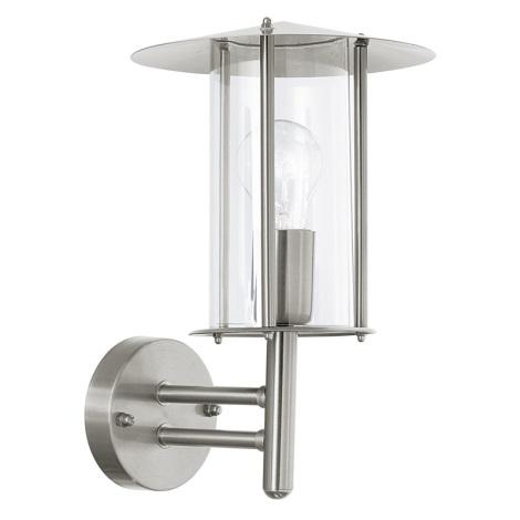 EGLO 86862 - DUBLIN kültéri fali lámpa 1xE27/60W átlátszó
