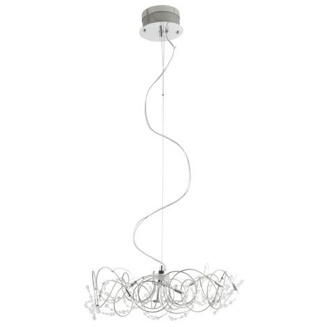 Eglo 86904 - Függesztékes  lámpa FIGARO 10xG4/20W/230V