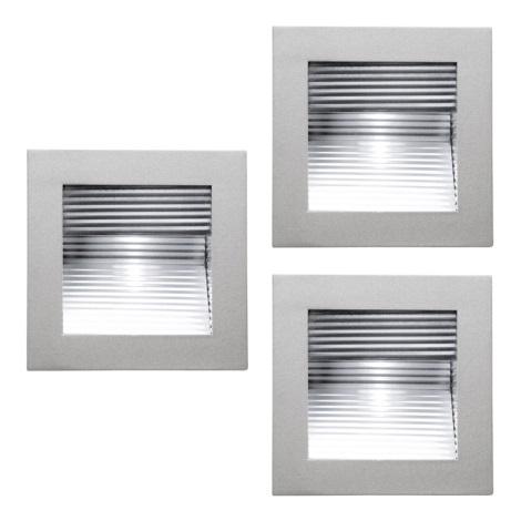EGLO 87026 - GLENN fali/mennyezeti lámpa 3xG4/20W