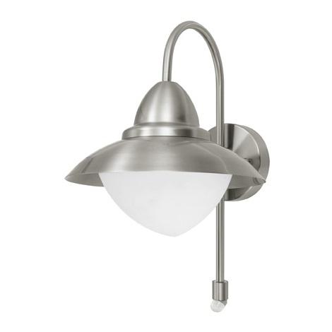 EGLO 87105 - SIDNEY kültéri szenzoros fali lámpa 1xE27/60W