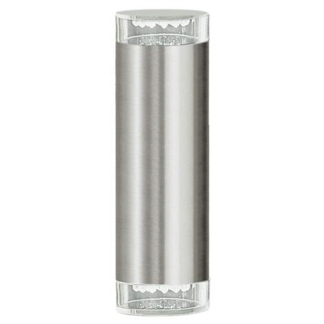 EGLO 87112 - Kültéri fali lámpa RIGA LED 2xGU10/LED/1,28W