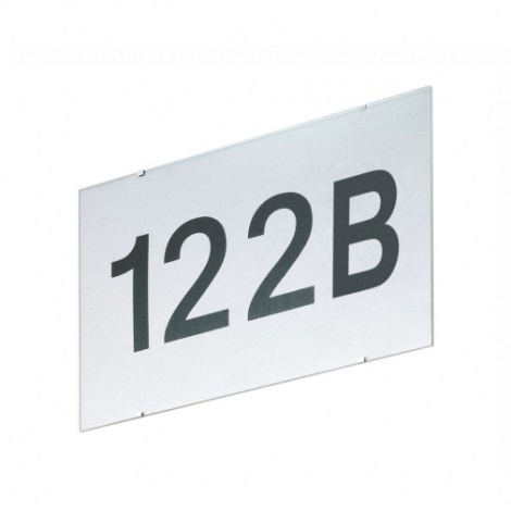 EGLO 87137 - CINEMA  kültéri fali lámpa ezüst