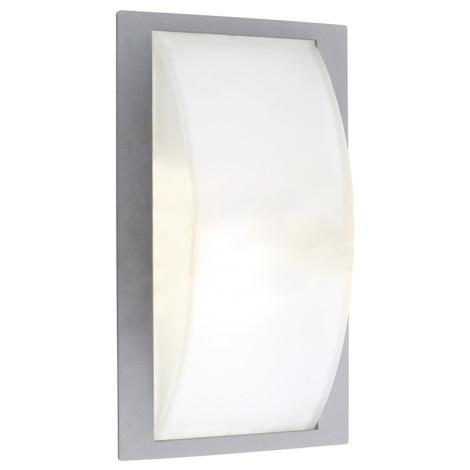 EGLO 87182 - PARK 5 kültéri fali lámpa 1xE27/100W ezüst