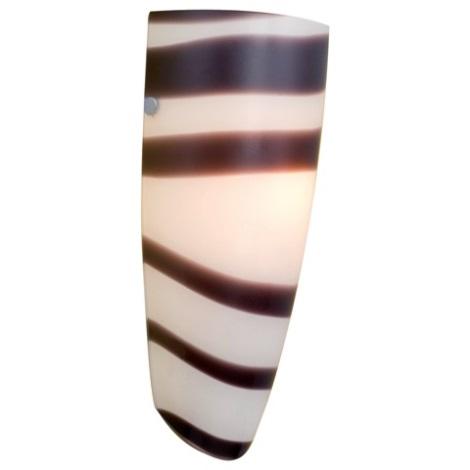 EGLO 87275 - NARO fali lámpa 1xE27/60W fekete/fehér