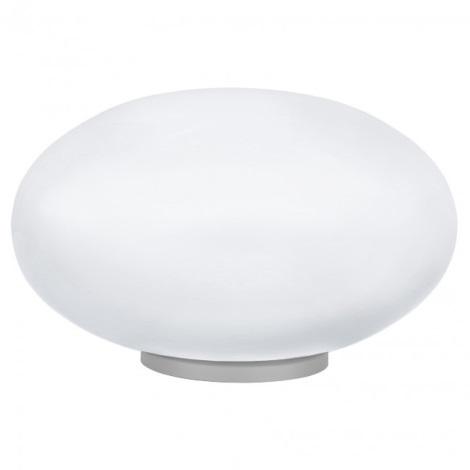 EGLO 87276 - Asztali lámpa NARO 1xE27/60W ezüst