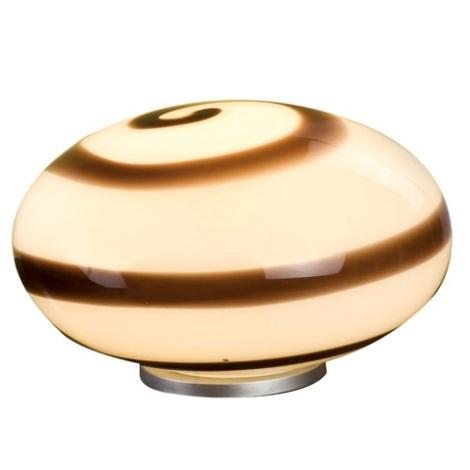 EGLO 87282 - NARO asztali lámpa 1xE27/60W barna/fehér