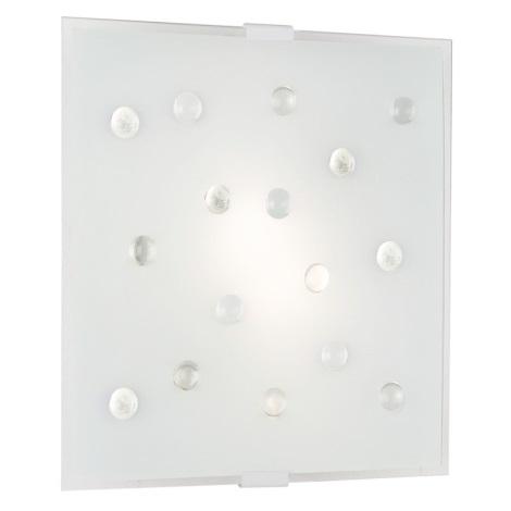EGLO 87312 - SANTIAGO 1 fali/mennyezeti lámpa 2xE14/40W fehér