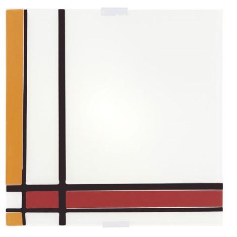 EGLO 87506 - PIET mennyezeti lámpa 4xE14/40W piros/narancs