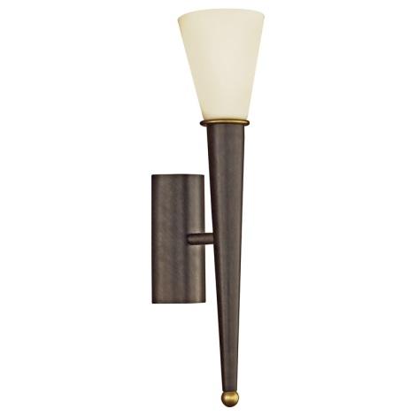 EGLO 87538 - MARA fali lámpa 1xE14/60W antik barna